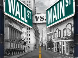 wall st. vs main st.