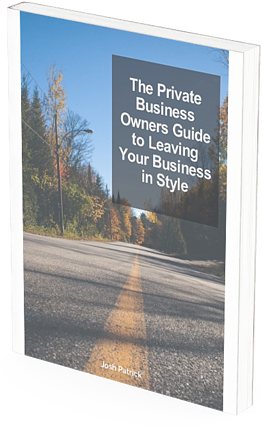 The Private Business Owners Guide To Leaving Business in Style mockup